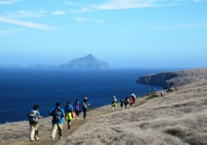 FTO Students on Santa Cruz Island