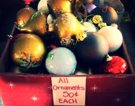 Holiday Ornaments On Sale
