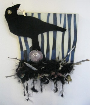 Crow Mischief- Virginia Bobro