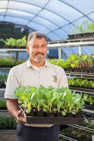 Oscar Carmona, Healing Grounds Nursery