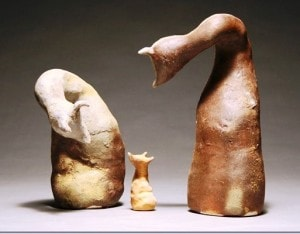 Ceramic Sculpture by Claire Frandson