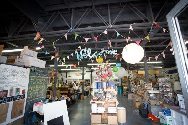 AFS Creative Reuse Store- Kelsey Crews Photo