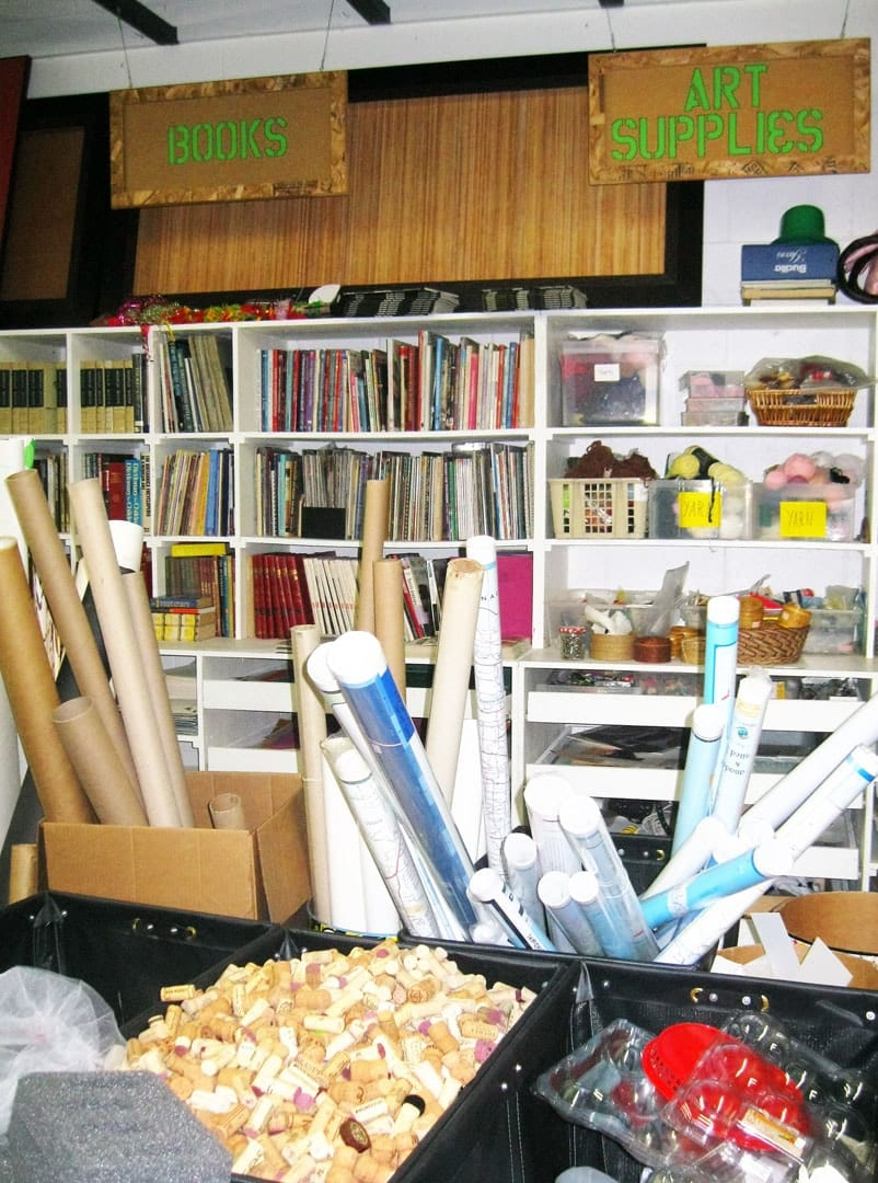 creative reuse school materials program